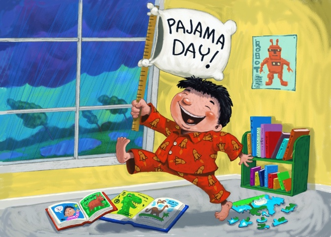 Spirit Week: Pajama Day & Walk-A-Thon